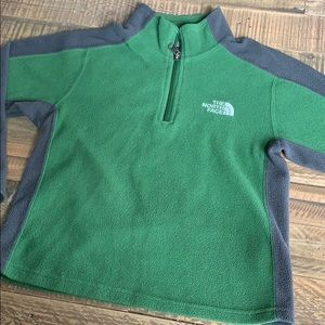 The North Face fleece zip up size 6
